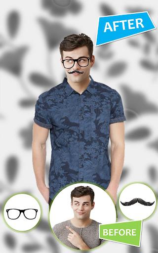 Man Shirt Photo Suit Editor android2mod screenshots 3