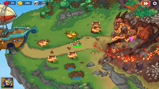 King of Defense 2: Epic Tower Defense Mod Apk 1.0.3 (A Lot of Money) 4