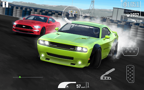 Nitro Nation Drag And Drift Mod Apk (v6.13.1) + Unlimited Money + No Ads 2