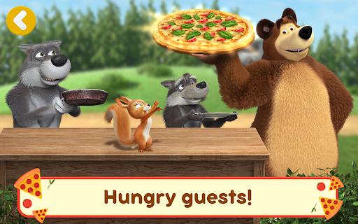 Masha and the Bear Pizzeria Game! Pizza Maker Game  screenshots 21