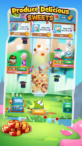 Om Nom Idle Candy Factory  screenshots 1