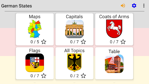 German States - Flags, Capitals and Map of Germany screenshots 6