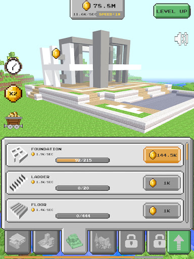 House Craft 3D - Idle Block Building Game Apkfinish screenshots 6