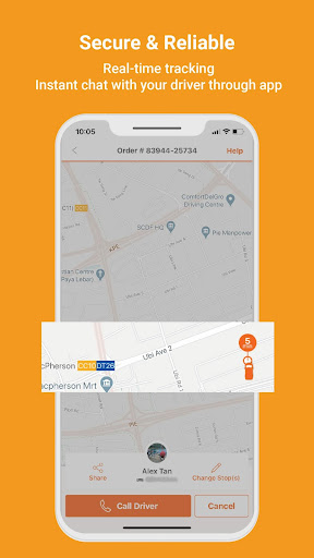 Lalamove - 24/7 On-Demand Delivery App 103.5.1 Screenshots 6