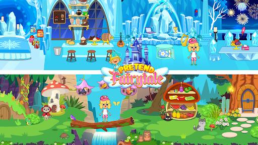 My Pretend Fairytale Land - My Royal Family Game  screenshots 2