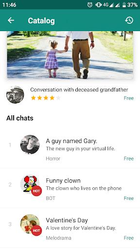 Love Story Chat u2014 virtual story messenger 1.3.9 screenshots 4