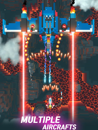 Sky Wings: Pixel Fighter 3D  screenshots 11