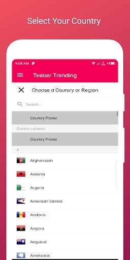 Trending hashtag for Twitter 1.5 screenshots 11