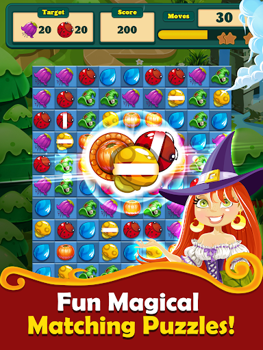 Witchy Wizard: New 2020 Match 3 Games Free No Wifi 2.1.7 screenshots 13