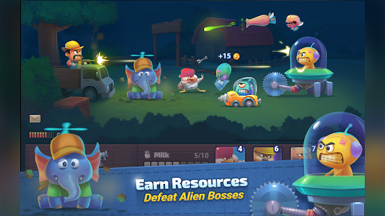 Farm Guns: New Alien Clash Screenshot