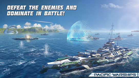 Pacific Warships: Online 3D War Shooter MOD (Unlimited Bullets) 5