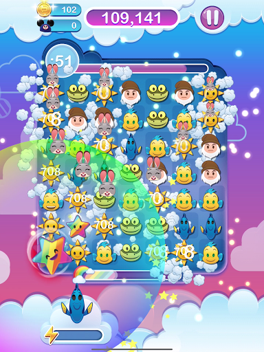 Disney Emoji Blitz apkslow screenshots 8