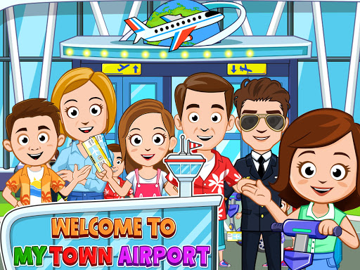 My Town : Airport apkpoly screenshots 9