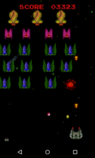 Retro Space Phoenix screenshots 1