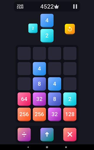 2048: Drop And Merge 1.3 screenshots 5