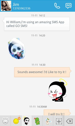 GO SMS HULA ANIMATED STICKER For PC Windows (7, 8, 10, 10X) & Mac Computer Image Number- 8