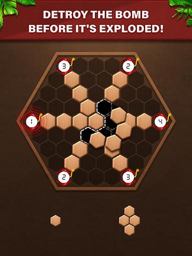 Fill Wooden Block: 1010 Wood Block Puzzle Classic  screenshots 9