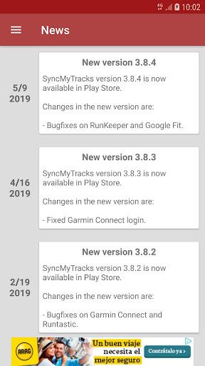 SyncMyTracks Free  Screenshots 7