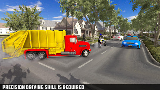 Modern Trash Truck Simulator - Free Games 2020  screenshots 15