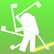 ゴルフスイング軌道 - 残像ゴルフスイング