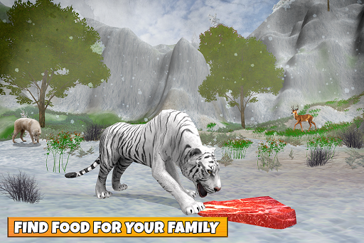 Snow Tiger Family apkmr screenshots 15