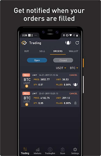 ProfitTrading For Binance - Trade much faster android2mod screenshots 3