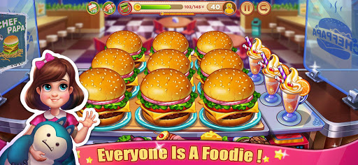 Crazy Cooking Tour: Chef's Restaurant Food Game Latest screenshots 1