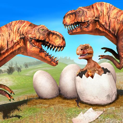 Wild Dino Family Simulator: Dinosaur Games APK