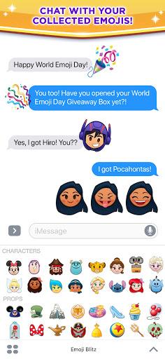 Disney Emoji Blitz - Disney Match 3 Puzzle Games  screenshots 2