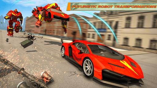 Dragon Robot Transforming Car 2.7 screenshots 6