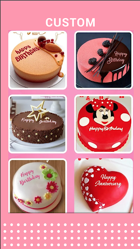 Birthday cake with name and photo - Birthday Song android2mod screenshots 2