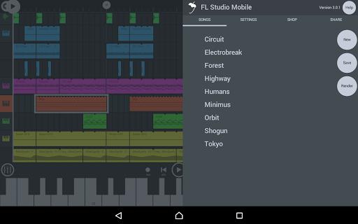 FL Studio Mobile  screen 0