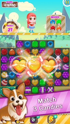 Candy Sweet Pop  : Cake Swap Match 1.6.8 screenshots 4