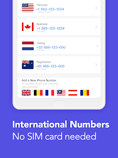 TalkU Free Calls +Free Texting +International Call Screenshot