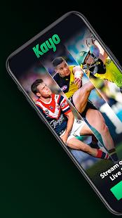 Kayo Sports - for Android TV screenshots 1