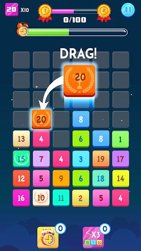 Number Blocks - Merge Puzzle 1.18.2 screenshots 3