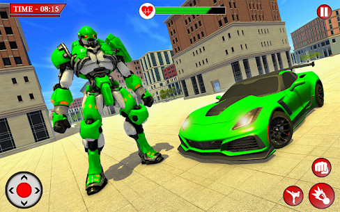 Robot Transformation Car 2020- Fast Robot War game Hack Online (Android iOS) 5