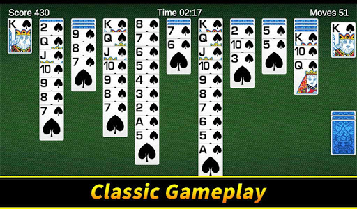 Spider Solitaire apkpoly screenshots 11