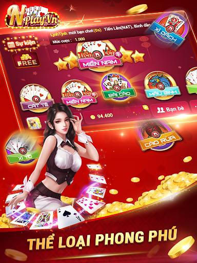 NPLAY: Game Bu00e0i Online, Tiu1ebfn Lu00ean MN, Binh, Poker.. screenshots 12