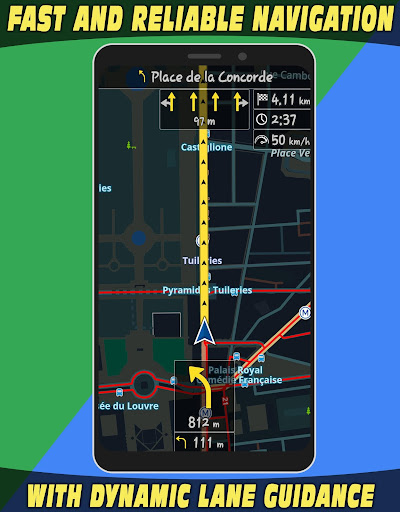 GPS Navigator with Offline Maps 2.6 Screenshots 5