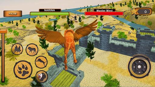 Angry Flying Lion Simulator 2021 apkmartins screenshots 1