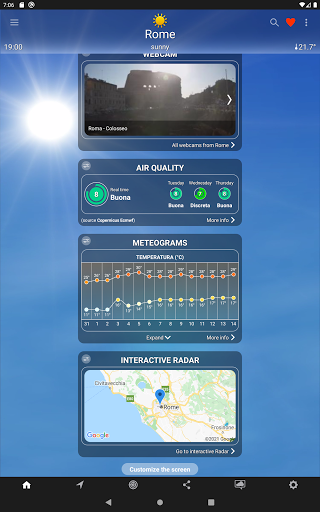 The Weather: weather forecast by iLMeteo  screenshots 18