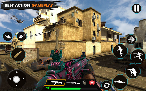 offline shooting game: free gun game 2021 modavailable screenshots 9