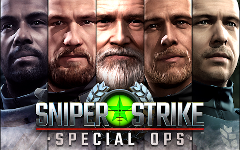 Sniper Strike – FPS 3D Shooting Game Screenshot