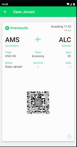 Transavia apktram screenshots 6