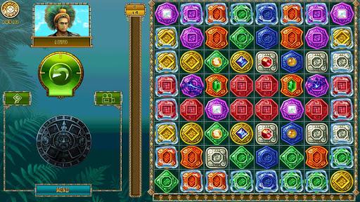 Treasure of Montezuma - 3 in a row games free  screenshots 11