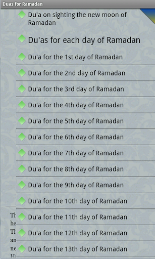Duas for Ramadan days & nights For PC Windows (7, 8, 10, 10X) & Mac Computer Image Number- 9
