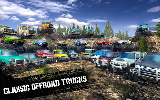 Offroad Driving Simulator 4x4: Trucks & SUV Trophy  Screenshots 2