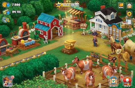 Wild West: New Frontier. Build your super farm. 8
