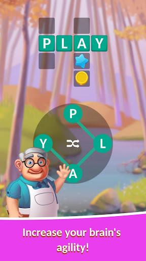🟢Crocword: Crossword Puzzle Game modiapk screenshots 1